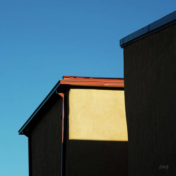 Photograph - Building In Light And Shadow  I Sq by David Gordon