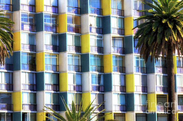 Photograph - Building Lines In Vina Del Mar Chile by John Rizzuto