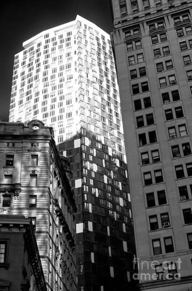 Photograph - Building Shadows by John Rizzuto