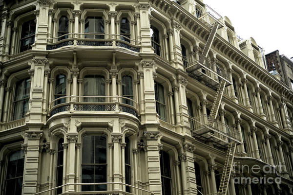 Photograph - Building Style In New York City by John Rizzuto