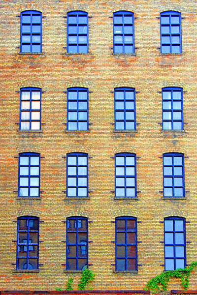 Building Windows Art Print