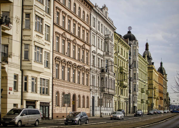 Photograph - Buildings Along The Vltava by Heather Applegate