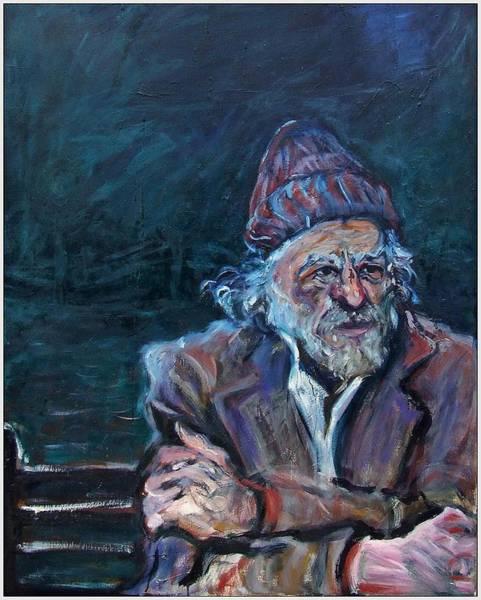 Painting - Bukowski by Katt Yanda