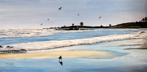 Painting - Bull Beach by Marilyn McNish
