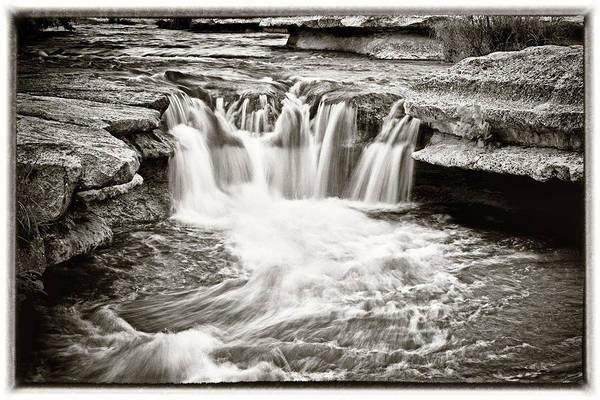 Wall Art - Photograph - Bull Creek Water Run by Lisa Spencer