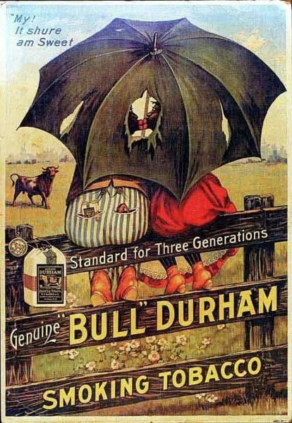 Bull Durham Smoking Tobacco Art Print