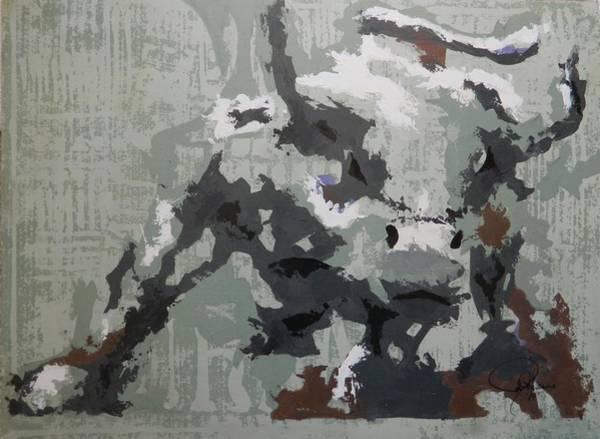 Wall Art - Painting - Bull Market G by John Henne