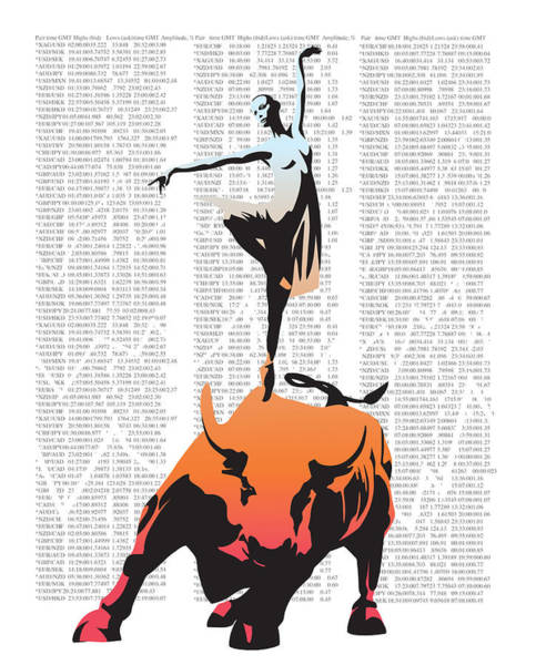 Capitalism Wall Art - Painting - Bullerina by Sassan Filsoof