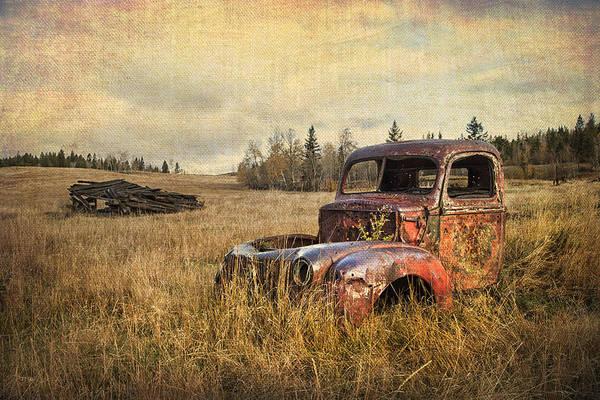 Wall Art - Photograph - Bullet Riddled by Theresa Tahara