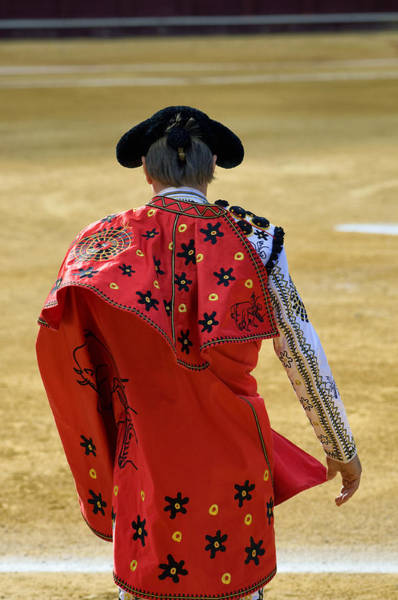 Toreador Photograph - Bullfighter Entering The Bullring  by Eduardo Huelin