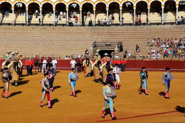 Photograph - Bullfighting 10 by Andrew Fare