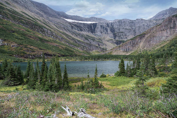 Photograph - Bullhead Lake And Swiftcurrent Glacier by Jemmy Archer