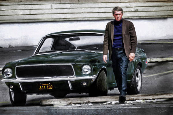 Wall Art - Digital Art - Bullitt by Peter Chilelli