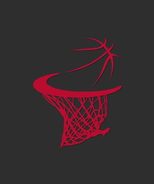 Chicago Bulls Photograph - Bulls Basketball Hoop by Joe Hamilton