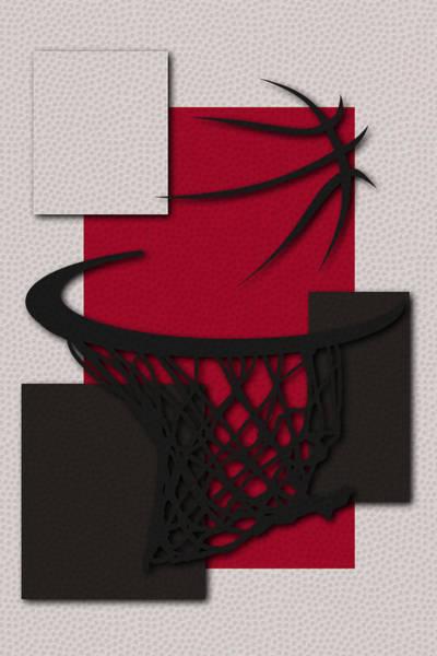 Chicago Bulls Photograph - Bulls Hoop by Joe Hamilton