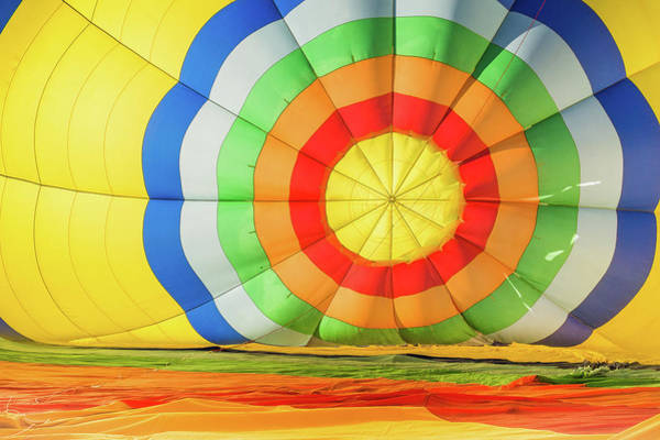 Photograph - Bullseye Of The Balloon by Robin Zygelman