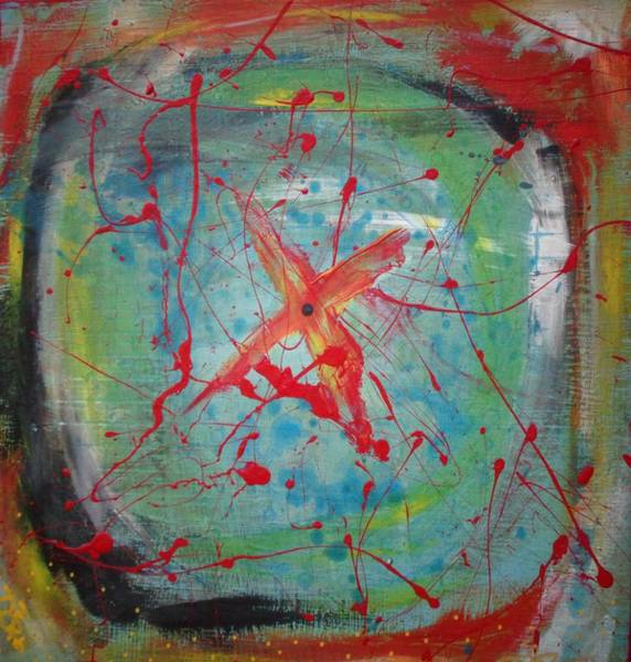 Painting - Bullseye Vision by Dane Newton