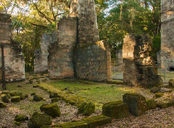 Flagler Photograph - Bulow Plantation Ruins by Edie Ann Mendenhall