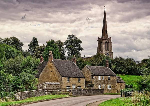 Photograph - Bulwick Village Northamptonshire by Martyn Arnold