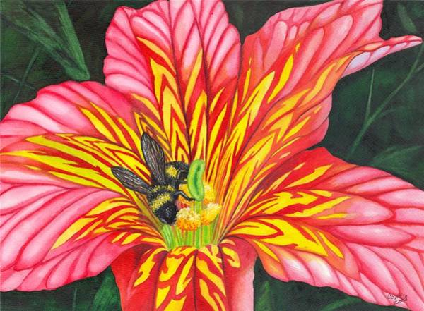 Painting - Bumble Bee by Catherine G McElroy