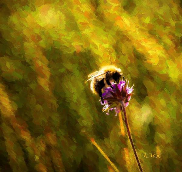 Photograph - Bumblebee  by Rose-Maries Pictures