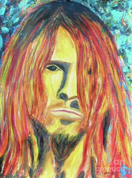 Guns And Roses Painting - Bumblefoot by Jessie Art