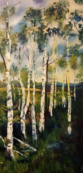Painting - Bummer Dan's View Of Virginia City Montana by Cheryl Nancy Ann Gordon