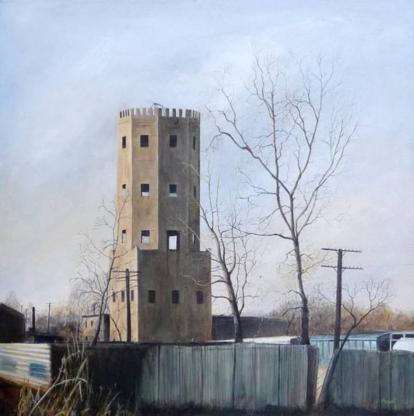 Wall Art - Painting - Bum's Castle by William Brody