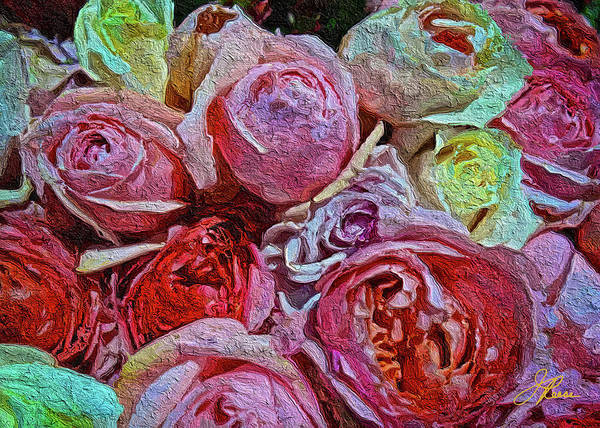 Painting - Bunch Of Roses by Joan Reese