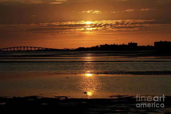 Photograph - Bunche Beach Sunset by Meg Rousher