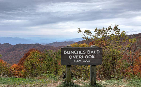 Photograph - Bunches Bald by Ree Reid