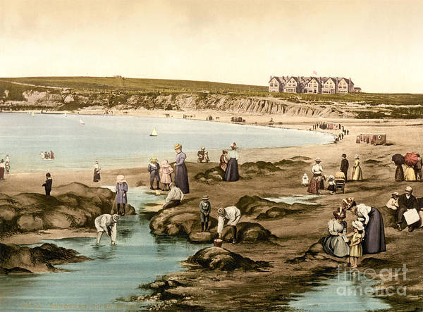 Donegal Painting - Bundoran County Donegal Ireland by Celestial Images