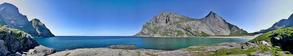 Photograph - Bunes Beach Norway by Thomas M Pikolin