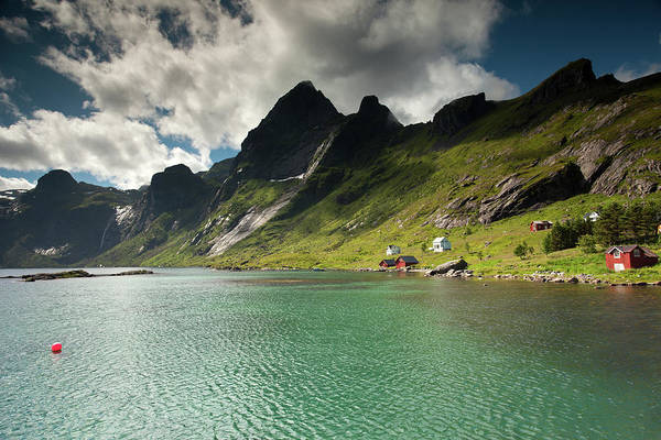Photograph - Bunesfjord And Mountains by Aivar Mikko