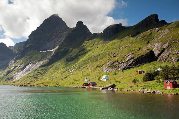 Photograph - Bunesfjord And Mountains by Aivar Mikko