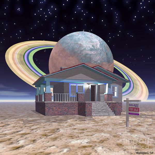 Digital Art - Open House 2 by Walter Neal