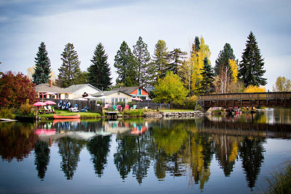 Photograph - bungalows on the Deschutes by Stephen Holst
