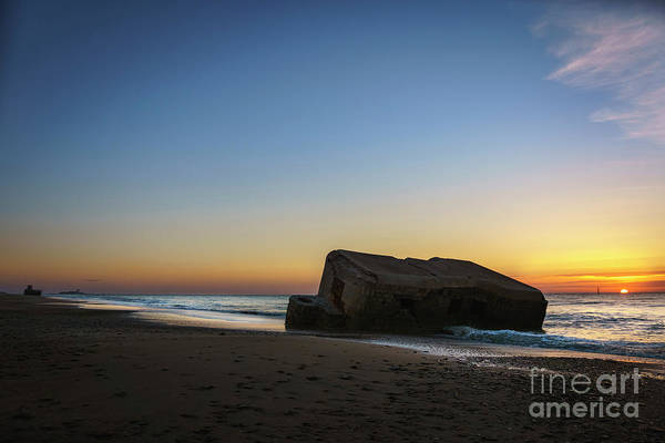 Photograph - Bunker And Sancti Petri Lighthouse Cadiz Spain by Pablo Avanzini