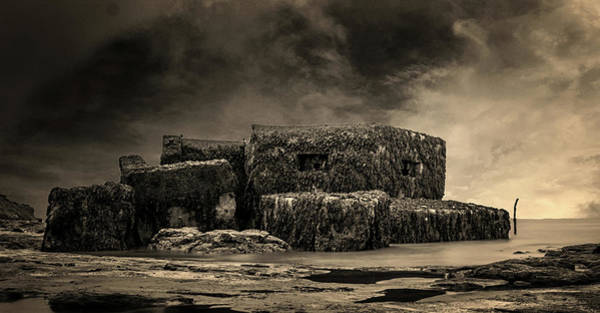 Amnesty Photograph - Bunker by Martin Newman