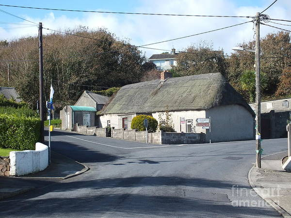 Photograph - Bunmahon Village  Coppercoast by Val Byrne