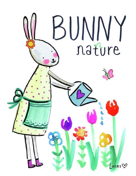 Bunny Nature Art Print