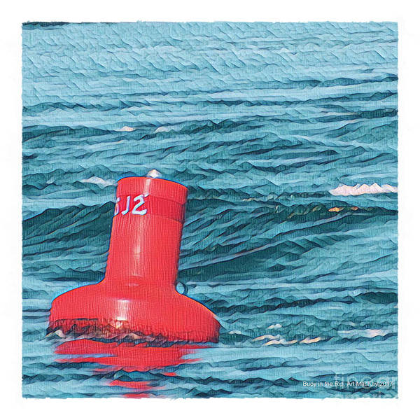 Photograph - Buoy In The Rip by Art MacKay