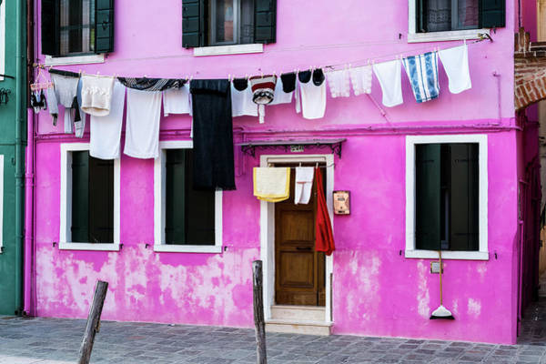 Photograph - Burano 3 by M G Whittingham