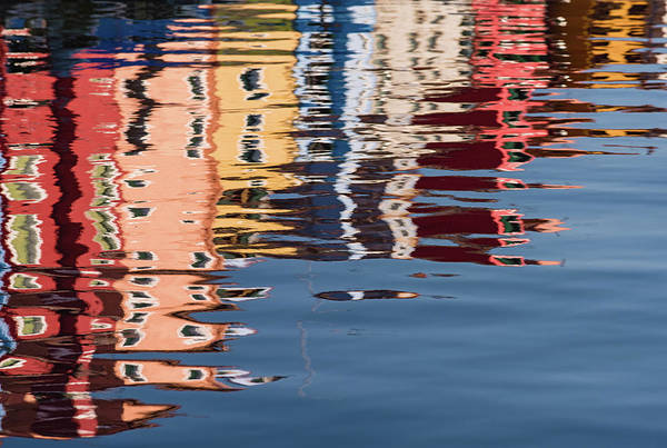 Photograph - Burano Canal by Michael Blanchette