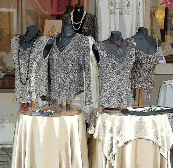 Jewelery Photograph - Burano Italy Lace by Mindy Newman