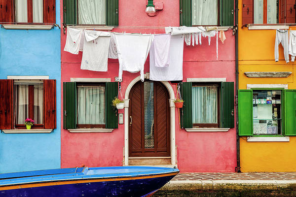 Wall Art - Photograph - Burano Street by Andrew Soundarajan