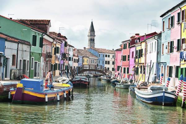 Photograph - Burano, The Veneto by Jean Gill
