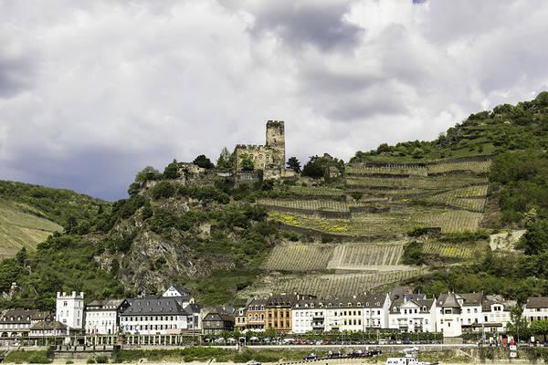Wall Art - Photograph - Burg Gutenfels And The Village Of Kaub by Teresa Mucha