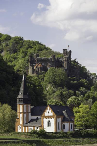 Wall Art - Photograph - Burg Reichenstein And Clemenskapelle by Teresa Mucha