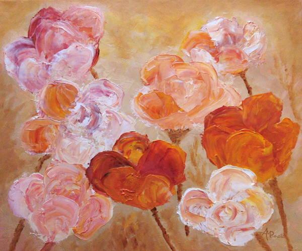 Painting - Burgeoning Soil by Angeles M Pomata